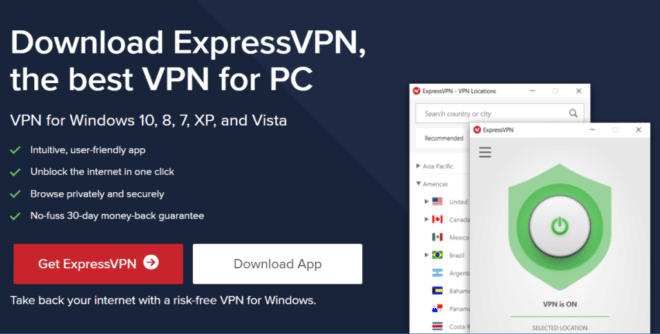 ExpressVPN Windows