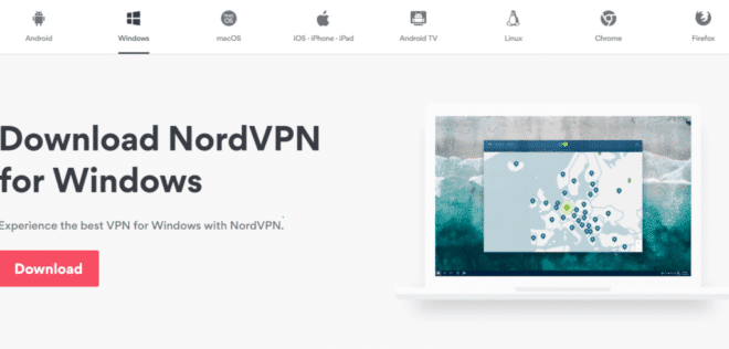 NordVPN Windows