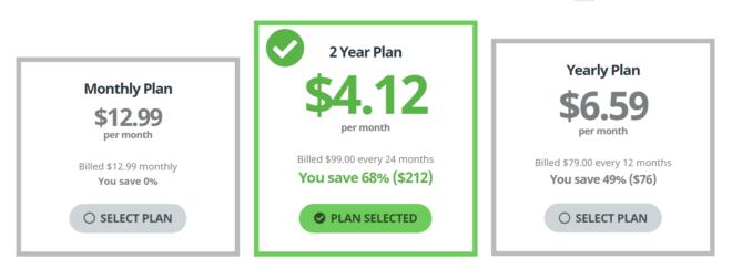 Buffered VPN Price