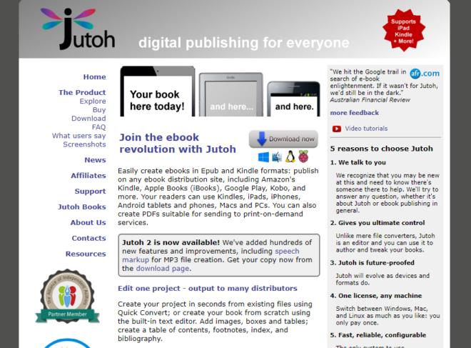 Jutoh Homepage