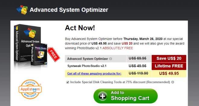 Advanced System Optimizer Pricing