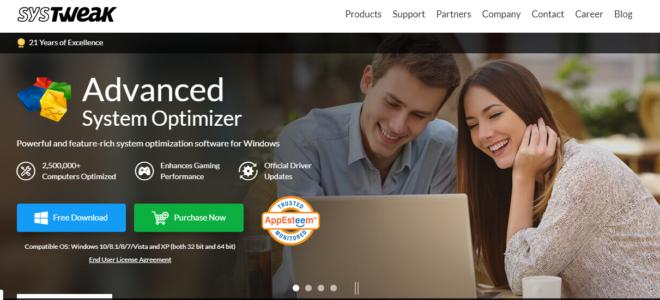 Systweak Advanced System Optimizer