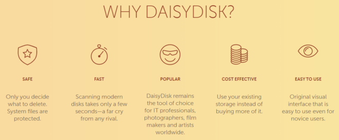 DaisyDisk Features