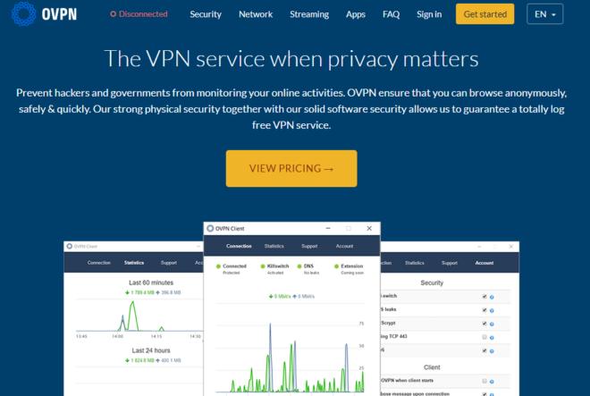 OVPN Page