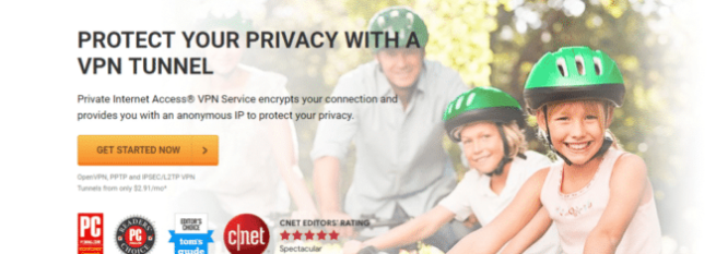 Private Internet Access: Most Affordable Linux VPN