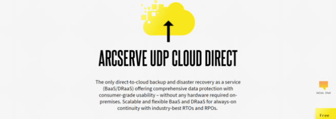 Arcserve UDP Cloud Direct