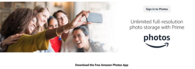 Amazon Prime Photos/Amazon Drive